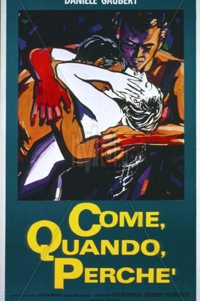 Caratula, cartel, poster o portada de Come, quando, perché