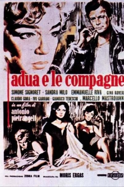Caratula, cartel, poster o portada de Adua y sus amigas