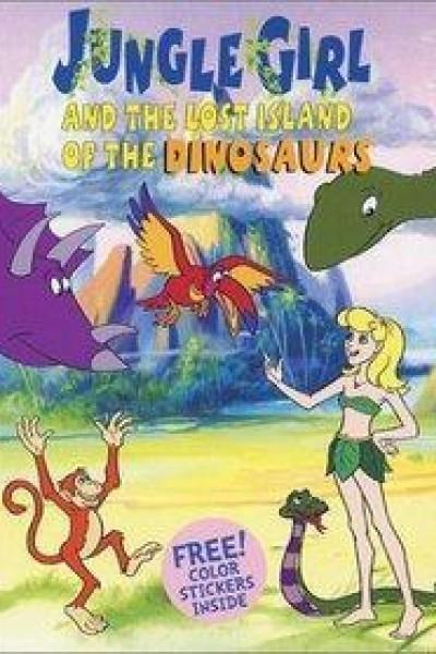 Caratula, cartel, poster o portada de La pequeña de la jungla y los dinosaurios