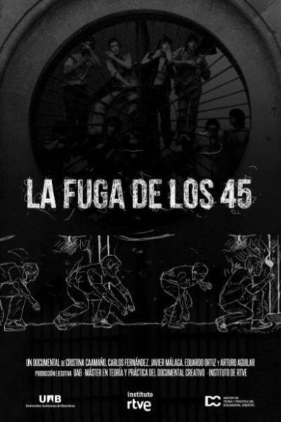 Caratula, cartel, poster o portada de La fuga de los 45