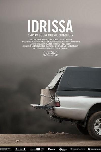 Caratula, cartel, poster o portada de Idrissa, crónica de una muerte cualquiera
