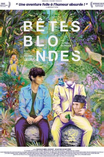 Caratula, cartel, poster o portada de Bêtes blondes