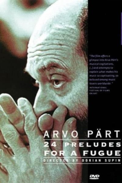Caratula, cartel, poster o portada de Arvo Pärt: 24 Preludes for a Fugue