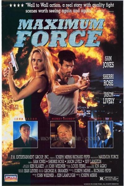 Caratula, cartel, poster o portada de Maximum Force