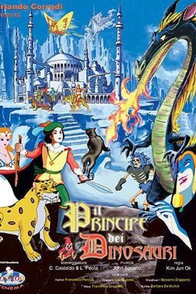 Caratula, cartel, poster o portada de El príncipe de los dinosaurios