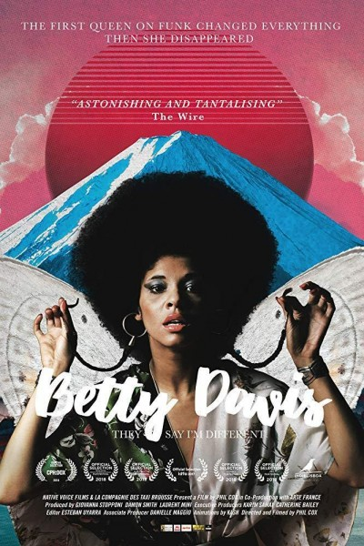 Caratula, cartel, poster o portada de Betty Davis: They Say I\'m Different