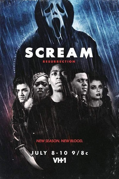 Caratula, cartel, poster o portada de Scream: Resurrection