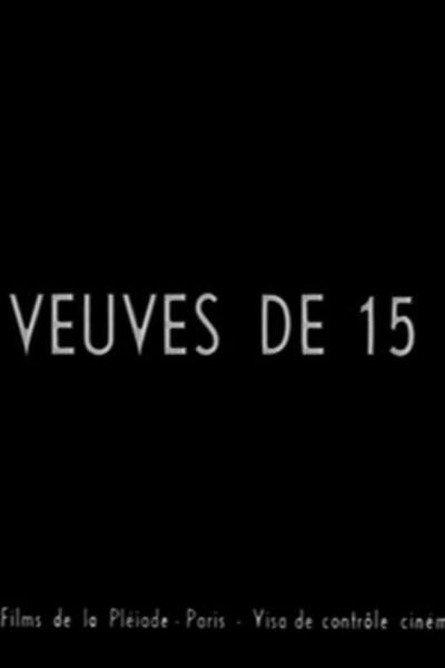 Caratula, cartel, poster o portada de Las viudas de 15 años