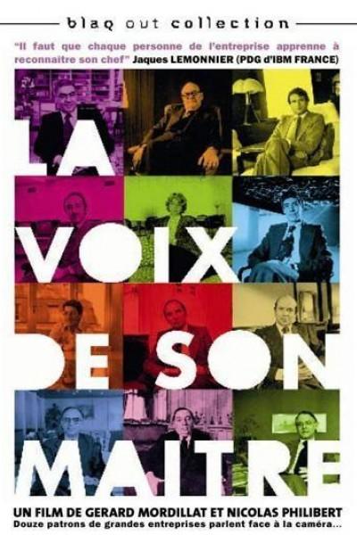 Caratula, cartel, poster o portada de La voix de son maître
