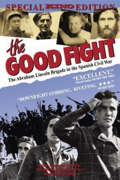 Caratula, cartel, poster o portada de The Good Fight: The Abraham Lincoln Brigade in the Spanish Civil War