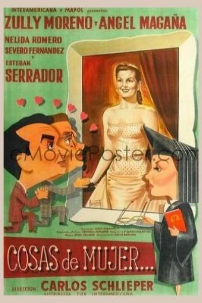 Caratula, cartel, poster o portada de Cosas de mujer