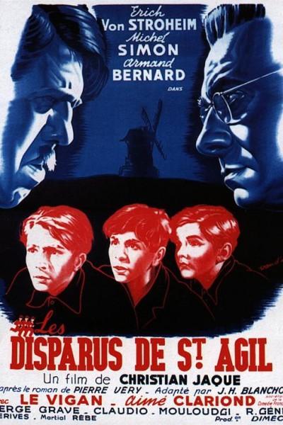 Caratula, cartel, poster o portada de Los desaparecidos de Saint Agil