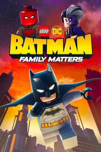 Caratula, cartel, poster o portada de LEGO DC: Batman - La Bat-familia importa