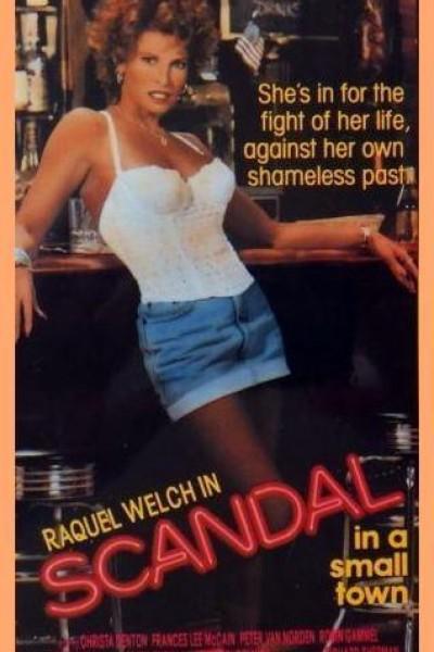 Caratula, cartel, poster o portada de Escándalo en una pequeña ciudad