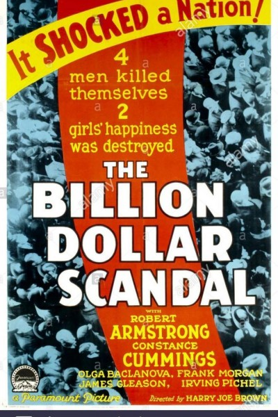Caratula, cartel, poster o portada de The Billion Dollar Scandal