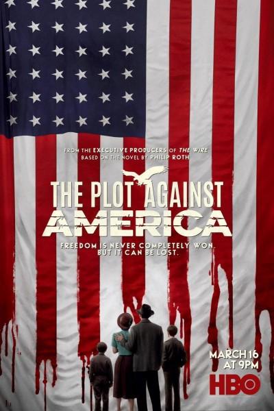 Caratula, cartel, poster o portada de La conjura contra América