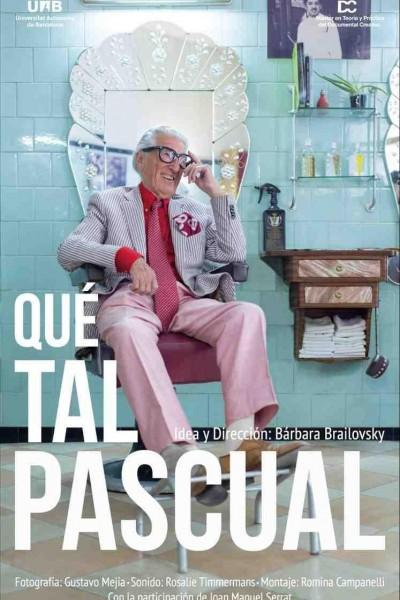 Caratula, cartel, poster o portada de Qué tal, Pascual