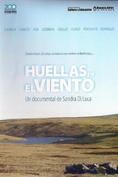 Caratula, cartel, poster o portada de Huellas en el viento