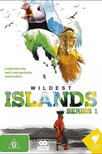 Caratula, cartel, poster o portada de Las islas más salvajes