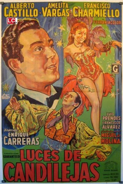 Caratula, cartel, poster o portada de Luces de candilejas