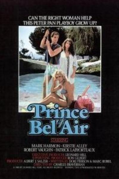 Caratula, cartel, poster o portada de El príncipe de Bel Air