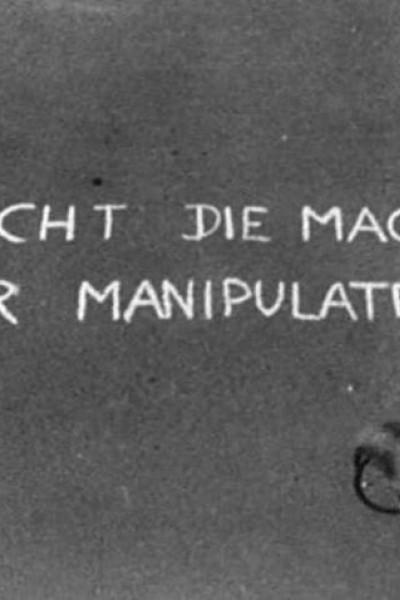 Caratula, cartel, poster o portada de Brecht die Macht der Manipulateure!