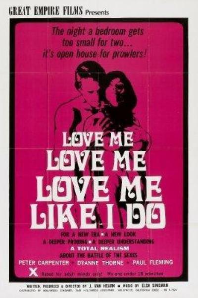 Caratula, cartel, poster o portada de Love Me Like I Do