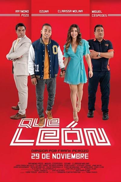 Caratula, cartel, poster o portada de Qué León (Una Vaina Loca)