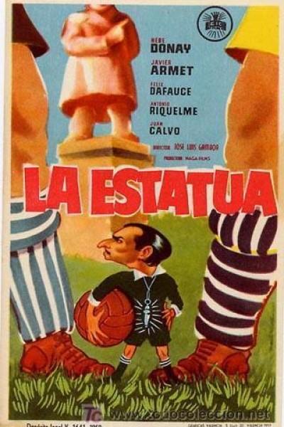 Caratula, cartel, poster o portada de La estatua