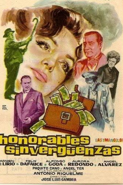 Caratula, cartel, poster o portada de Honorables sinvergüenzas