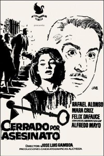 Caratula, cartel, poster o portada de Cerrado por asesinato