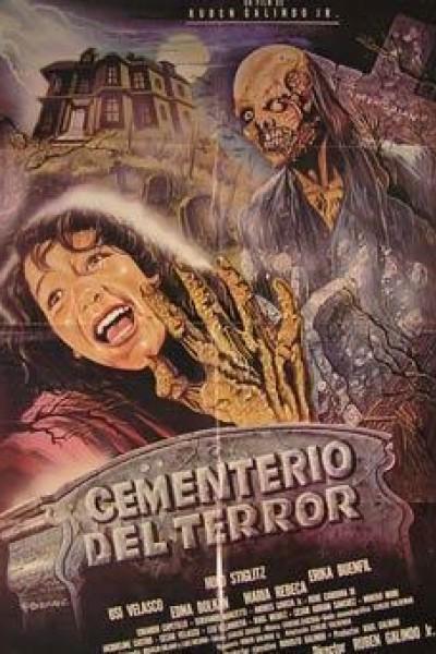 Caratula, cartel, poster o portada de Cementerio del terror