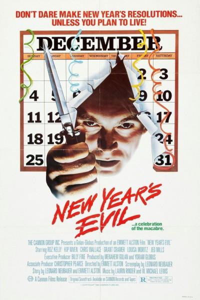 Caratula, cartel, poster o portada de Fin de año maldito