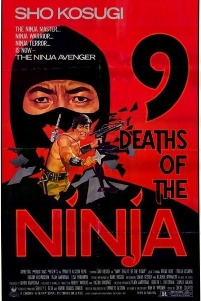 Caratula, cartel, poster o portada de Las nueve muertes de Ninja