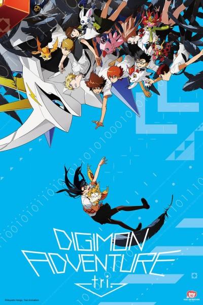 Caratula, cartel, poster o portada de Digimon Adventure tri