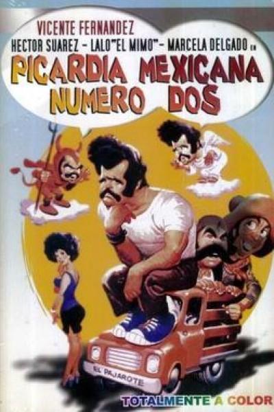 Caratula, cartel, poster o portada de Picardía mexicana - número dos