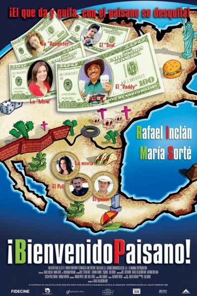 Caratula, cartel, poster o portada de Bienvenido paisano