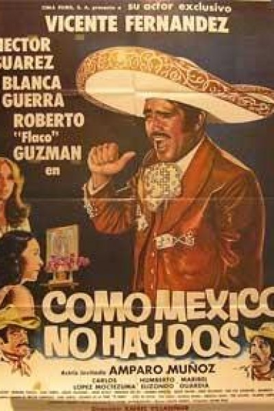 Caratula, cartel, poster o portada de Como México no hay dos