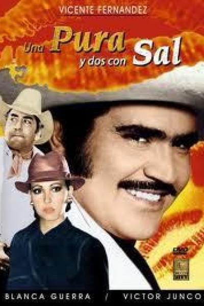 Caratula, cartel, poster o portada de Una pura y dos con sal