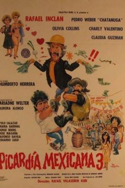Caratula, cartel, poster o portada de Picardía mexicana 3
