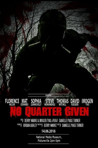 Caratula, cartel, poster o portada de No Quarter Given