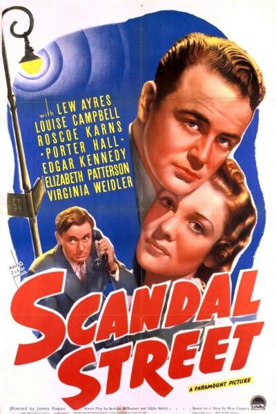 Caratula, cartel, poster o portada de Scandal Street