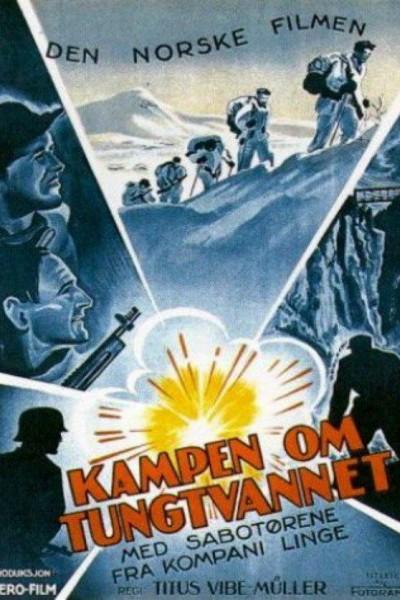 Caratula, cartel, poster o portada de Operation Swallow: The Battle for Heavy Water
