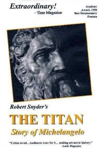 Caratula, cartel, poster o portada de The Titan: Story of Michelangelo