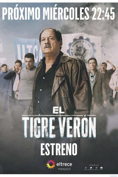 Caratula, cartel, poster o portada de El Tigre Verón