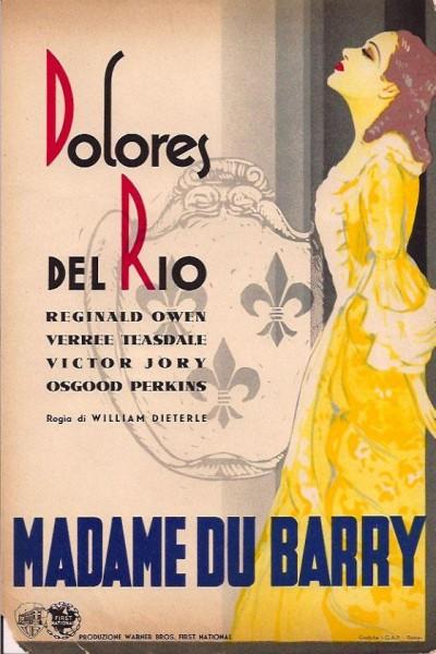 Caratula, cartel, poster o portada de Madame Du Barry