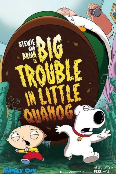 Caratula, cartel, poster o portada de Family Guy: Big Trouble in Little Quahog