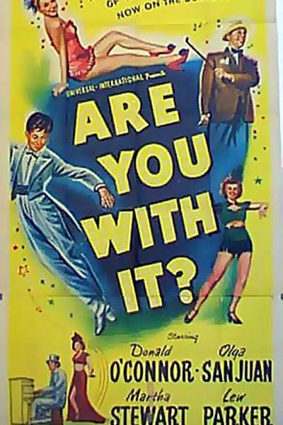 Caratula, cartel, poster o portada de Are You with It?