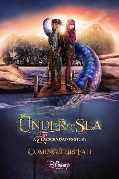 Caratula, cartel, poster o portada de Under the Sea: A Descendants Story