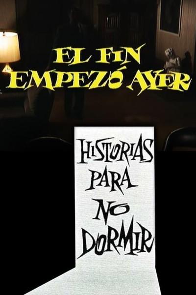 Caratula, cartel, poster o portada de El fin empezó ayer (Historias para no dormir)